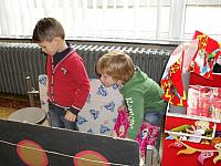 29 november '13 - Thema Sint en Piet in de knuffelklas