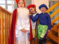 5 december '13 - Sint en Piet in de zonneklas