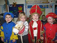 5 december '16 - thema sinterklaas in de visjesklas